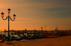 3 traduction Venise romantique Photos stock