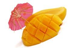 3 tropiska mangoserie Royaltyfri Bild
