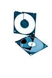 3 tum för 5 diskett Arkivbilder