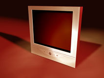 3 tv flatscreen Obrazy Royalty Free