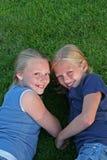 3 vänsystrar Fotografering för Bildbyråer