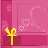 3 valentiner royaltyfri illustrationer