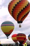 3 varma luftballonger Royaltyfri Fotografi