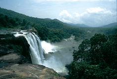 3 vattenfall Arkivbilder