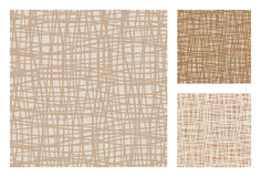 3 versions of abstract retro-patterns Royalty Free Stock Image