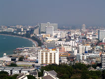 3 ville pattaya Photo stock