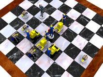 3 VOL. стратегии бизнеса Стоковое Изображение