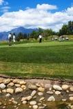 3 a w golfa Zdjęcia Royalty Free