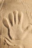 3 w piasku zdjęcie stock