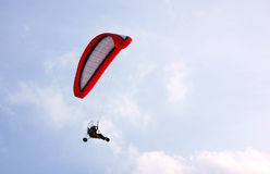 3 Wheel motorized parapent Stock Image