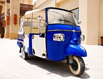 3 Wheeler. A 3 Wheeled shopping cart in Qatar's Pearl Mall in Doha Stock Photography