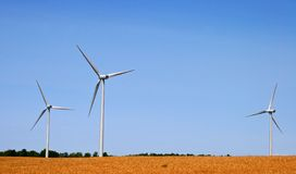 3 Windmühlen Lizenzfreie Stockbilder