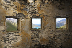 3 windows Stock Photos