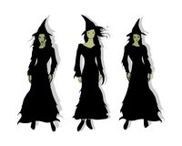 3 Witches Stock Photography