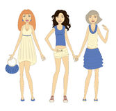 3 women Royalty Free Stock Photos
