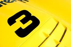 3 wyścig samochodów Obrazy Royalty Free