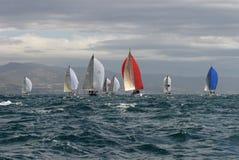 3 wypływa jachting Fotografia Royalty Free