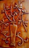 3 wyryte drewna Zdjęcia Royalty Free