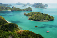 3 wyspy angthong ko to Obrazy Royalty Free