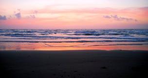 3 wyspy padre południe wschód słońca Obrazy Royalty Free