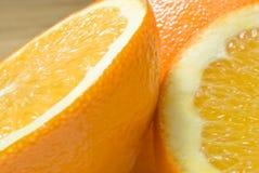3 zamknięty zamknięta pomarańcze Obrazy Stock