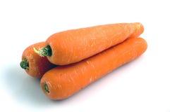 3 zanahorias foto de archivo libre de regalías