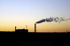 3 zanieczyszczenie Obrazy Stock