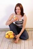 3 zdrowych owoców Zdjęcie Stock