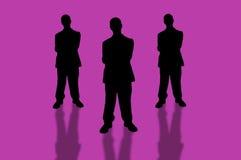 3 zespół przedsiębiorstw ilustracja wektor