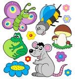 3 zwierząt kolekcja mała Obraz Stock