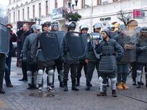 30ème anniversaire de loi martiale, Lublin, Pologne Photos stock