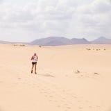 30个corralejo 10月赛跑者 免版税库存图片