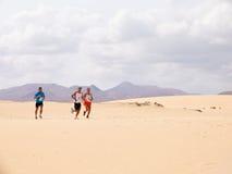 30个corralejo 10月赛跑者 免版税图库摄影