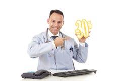 30关心健康销售额 免版税库存照片