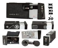 30照相机基辅 免版税库存图片