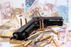 30种罪行枪 免版税库存照片