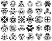 30 элементов конструкции Стоковое фото RF