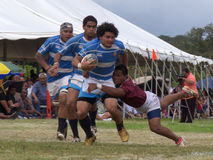 $30,000 Run. Event: Final of the 2nd Annual Hawai'i World Rugby Club Tournament 17.VII.10 Stock Photography