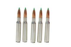 30-06 cartridges Royalty Free Stock Image