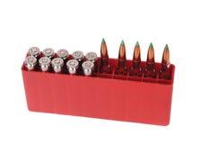 30-06 cartridges Stock Photography