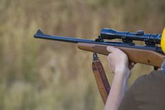 30-06 escala de rifle Foto de Stock Royalty Free