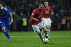 30 2009个最佳的橄榄球法国球员ronaldo 免版税库存照片