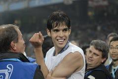 30 2009个最佳的橄榄球法国kaka球员 库存照片