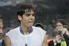 30 2009个最佳的橄榄球法国kaka球员 免版税库存照片