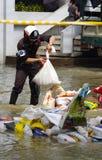 30,2011 oktober de vloed van Bangkok Royalty-vrije Stock Foto