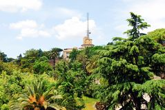 Сады Ватикана 30-ого мая 2014 Стоковые Изображения