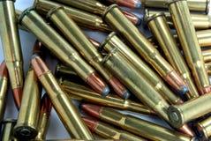 30-30 Kaliber-Shells Lizenzfreies Stockbild