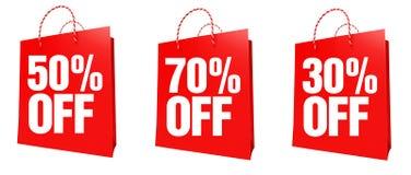 30-70 het teken van het percentage Royalty-vrije Stock Foto