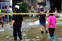 30 Bangkok 2011 powodzi Październik Zdjęcie Royalty Free
