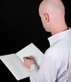 30 czerń tylna kropla samiec jego koszula s Zdjęcia Royalty Free